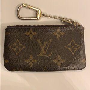Louis Vuitton wallet keychain